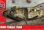 Airfix tank WWI Female Tank (1:76)