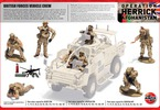 Airfix figurky British Vehicle Crew (1:48)