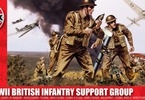 Airfix figurky WWII British Infantry Support Set (1:32)
