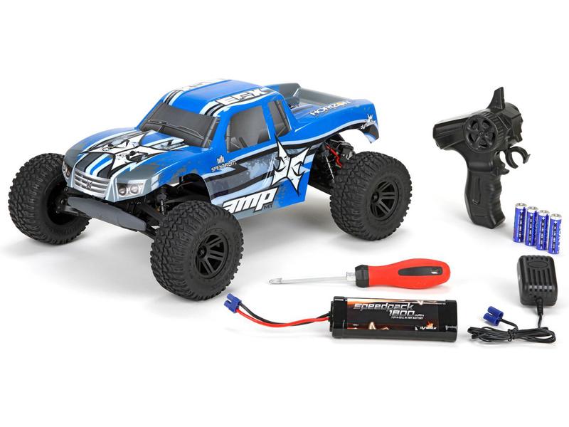 1:10 ECX AMP Monster Truck 2WD Kit RTR