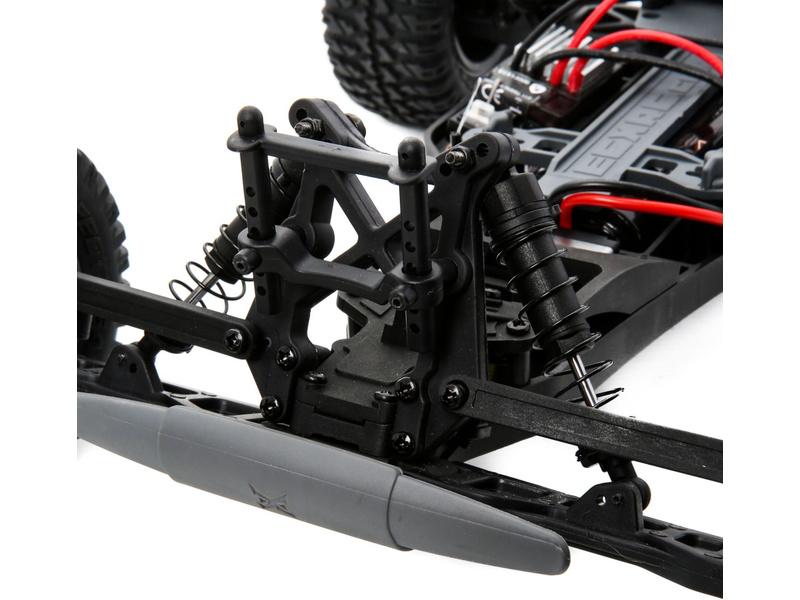 1:10 AMP Monster Truck 2WD RTR - bílá/oranžová