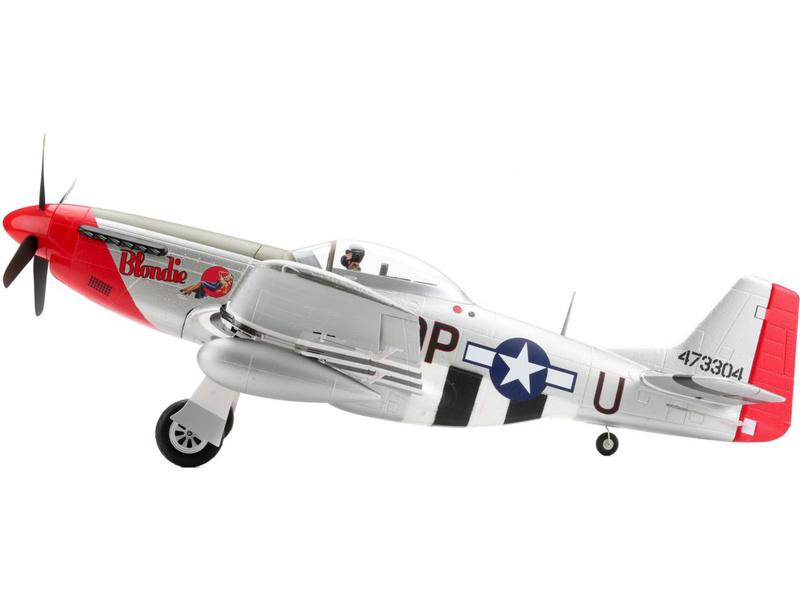 P-51D Mustang 1.2m BNF Basic