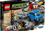 LEGO Speed Champions - Ford F-150 Raptor a Ford Model A Hot Rod