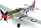 P-51D Mustang Ultra Micro AS3X RTF Mode 1