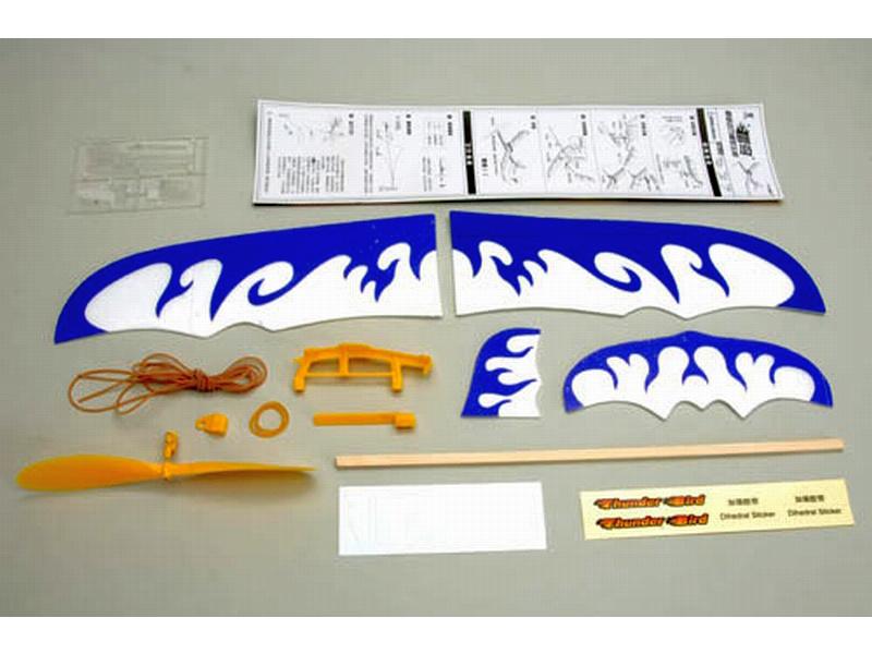 Házedlo Thunderbird 0.5m na gumový pohon