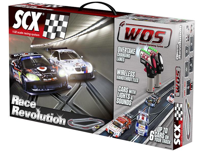 SCX WOS Race Revolution Set