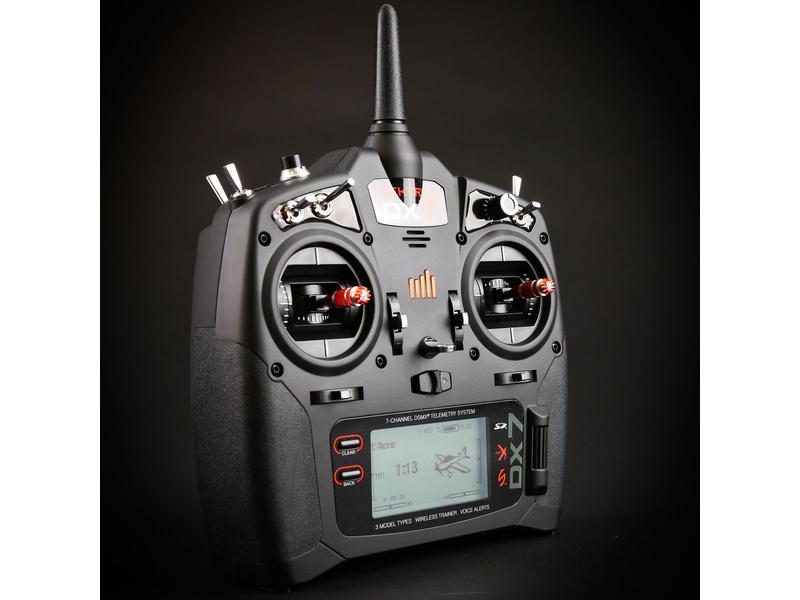 Spektrum DX7 DSMX Mód 1-4, AR8000