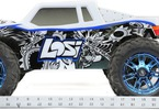 Losi LST 3XL-E 4WD Monster Truck 1:8 RTR AVC: Pohled