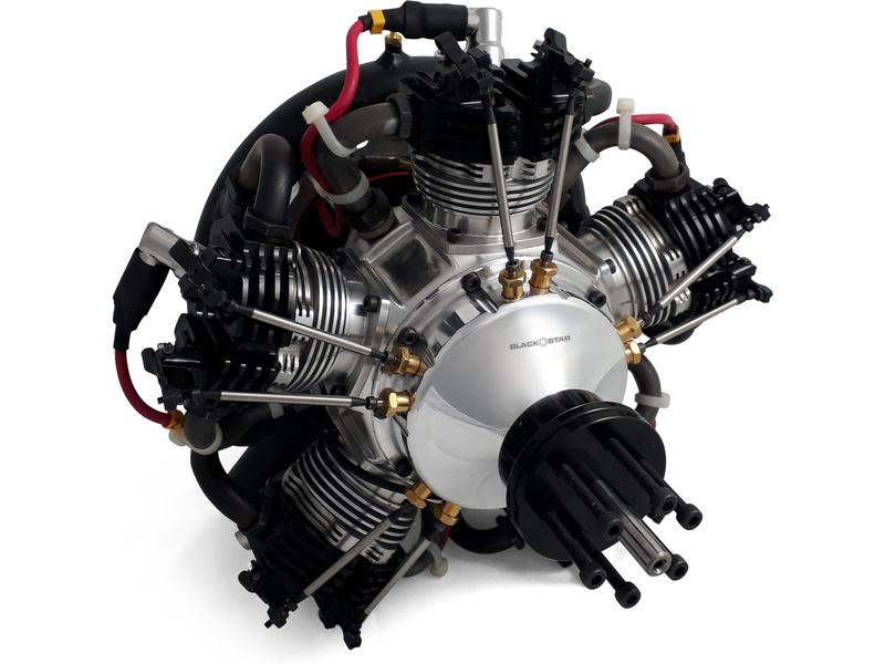 tomahawk motor black star 250 radial benz n model rc. Black Bedroom Furniture Sets. Home Design Ideas