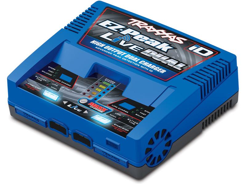 Traxxas nabíjač EZ-Peak Live Dual 2x100W