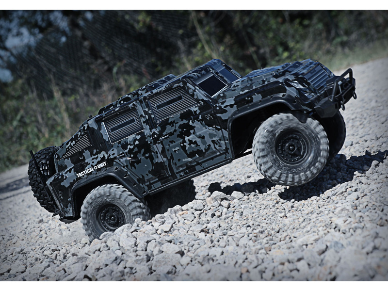 Traxxas TRX-4 Tactical Unit 1:10 TQi RTR