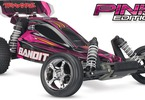 RC auto Traxxas Bandit 1:10: Celkový pohled - Pink edition