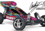 RC auto Traxxas Bandit 1:10: Celkový pohled - Courtney Force