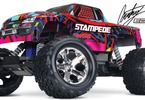 RC model auta Traxxas Stamede 1:10: Celkový pohled - Courney Force