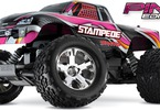 RC model auta Traxxas Stamede 1:10: Celkový pohled - Pink edition