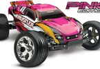 RC model auta Traxxas Rustler 1:10: Celkový pohled - Pink Edition