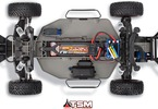 RC model auta Traxxas Slash VXL TSM: Šasi