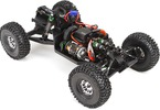 RC model auta Vaterra Twin Hammers: Šasi