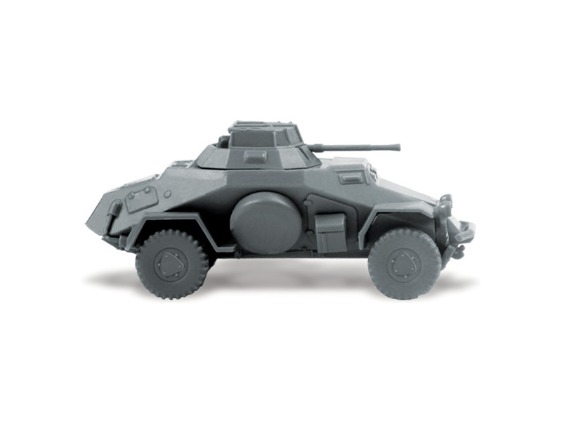 zvezda easy kit sd armored car 1 100 model rc. Black Bedroom Furniture Sets. Home Design Ideas
