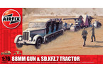 Classic Kit military 88mm Gun & Sd Kfz7 Tractor 1:76
