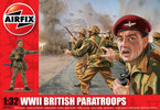 Classic Kit figurky WWII British Paratroops 1:32