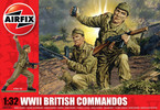 Classic Kit figurky WWII British Commandos 1:32