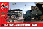 Classic Kit military Bedford QLD/QLT Trucks 1:76