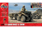 Classic Kit figurky British Quad Bikes and Crew 1:48