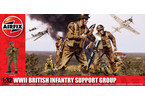 Classic Kit figurky WWII British Infantry Support Set 1:32