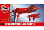 Classic Kit letadlo Red Arrows Gnat 1:48