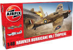Classic Kit letadlo Hawker Hurricane Mk1 - Tropical (1:48)