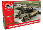 Airfix diorama Eighth Air Force: B-17G a Bomber Re-supply Set (1:72)