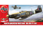Classic Kit letadlo North American Aviation P-51K/RF Mustang 1:24