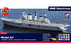 Gift Set loď HMS Illustrious 1:350
