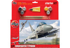 Starter Set letadlo Eurofighter Typhoon 1:72