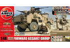 Gift Set military British Forces - Forward Assault Group 1:48