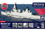 Gift Set loď HMS Daring Type 45 Destroyer 1:350