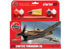 Starter Set letadlo Curtiss Tomahawk IIB 1:72