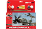 Airfix North American P-51D Mustang (1:72) (set)