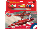 Starter Set letadlo Red Arrows Hawk 50th Season 1:72