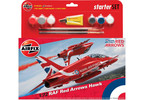 Starter Set letadlo RAF Red Arrows Hawk (1:72)