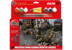 Starter Set figurky German Infantry Multi-Pose 1:32