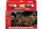 Airfix figurky WWII British Infantry Multipose (1:32) (set)