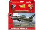Starter Set letadlo English Electric Lightning F2A 1:72