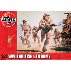 Classic Kit figurky WWII British 8th Army 1:72