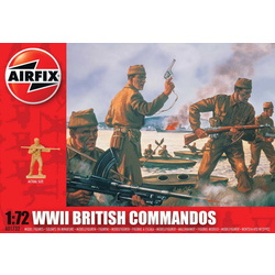 Classic Kit figurky WWII British Commandos 1:72