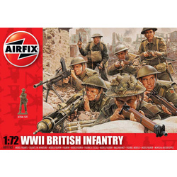 Classic Kit figurky WWII British Infantry Northern Europe 1:72