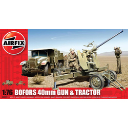 Classic Kit military Bofors 40mm Gun and Tractor 1:76
