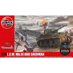 Classic Kit military LCM and Sherman 1:76