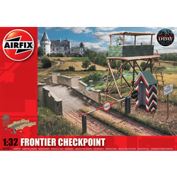 Classic Kit diorama Frontier Checkpoint 1:32